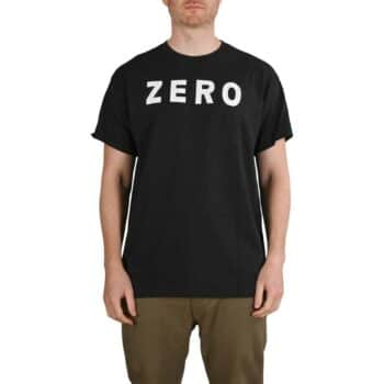 Zero Army S/S T-Shirt - Black/White