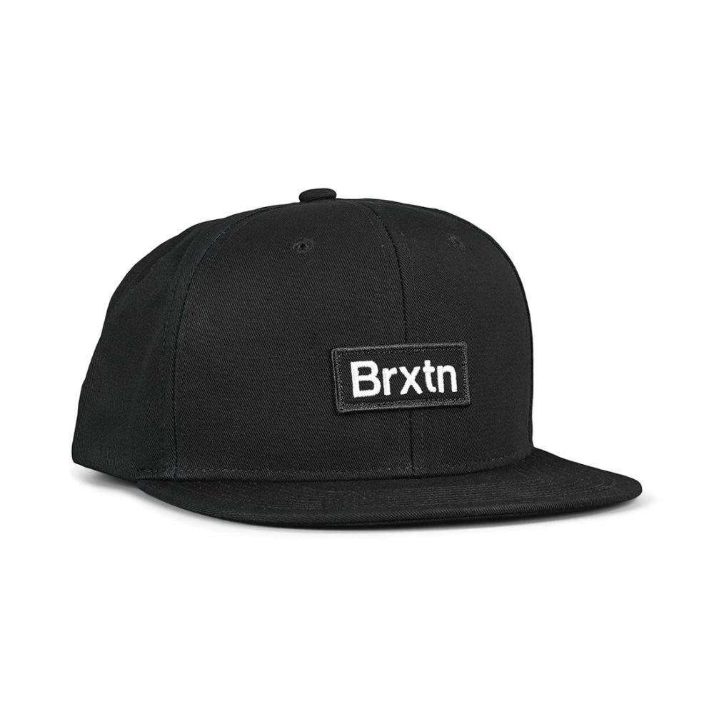 Brixton Gate III MP Snapback Hat - Black