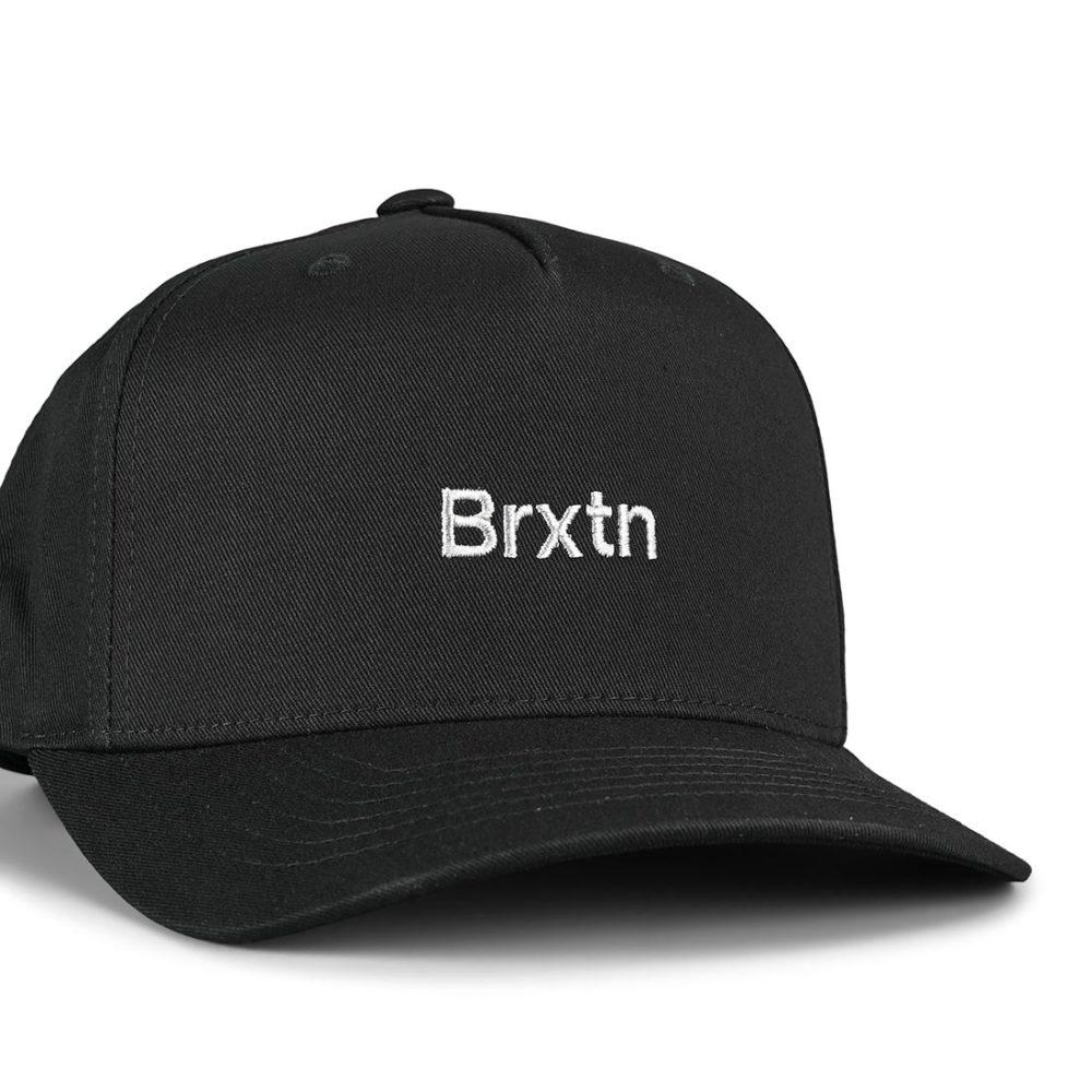 Brixton Gate II MP Snapback Hat - Black