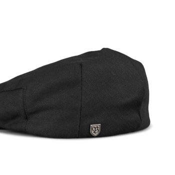 Brixton Hooligan Snap Flat Cap - Black