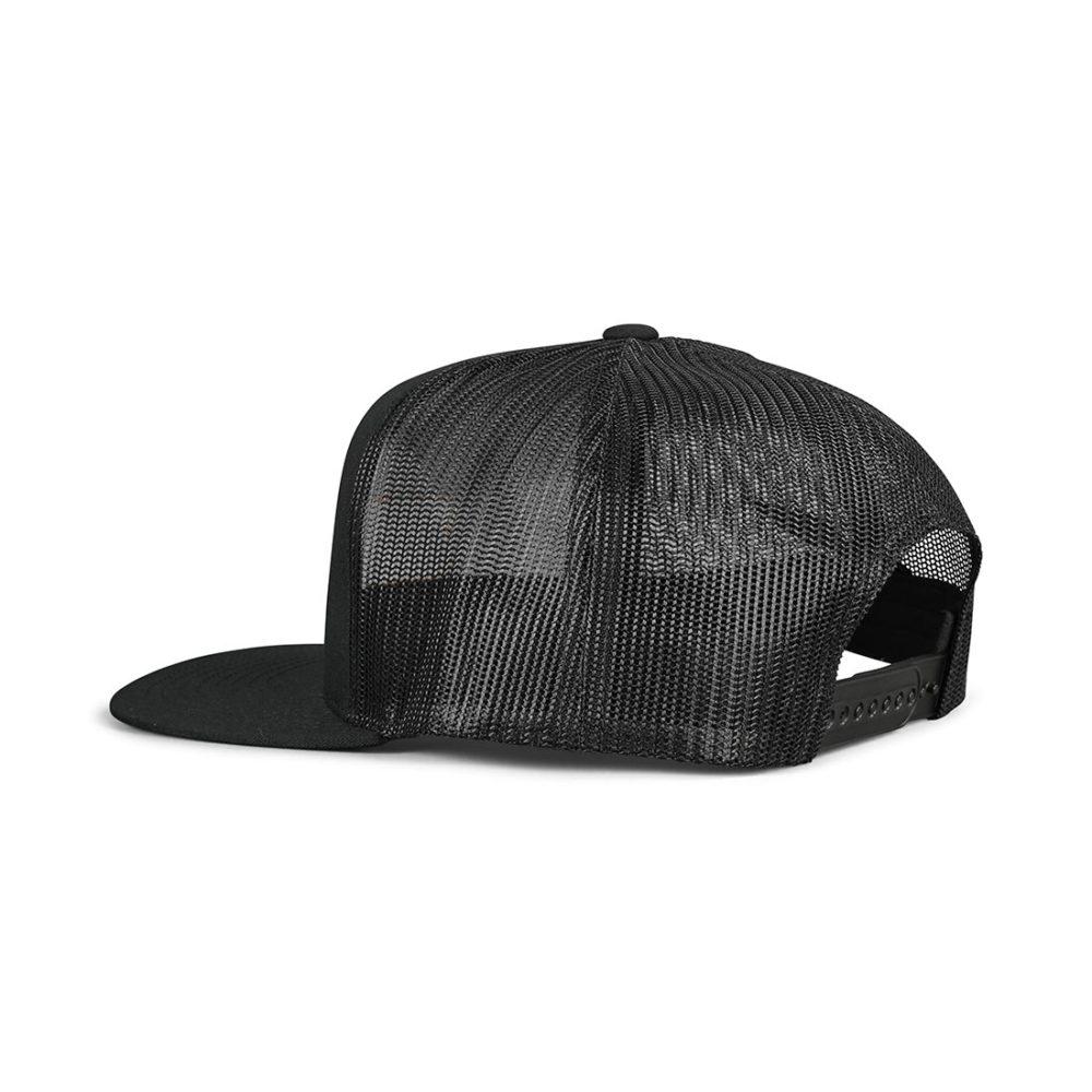 Brixton Palmer Mesh Back Trucker Cap - Black / Gold