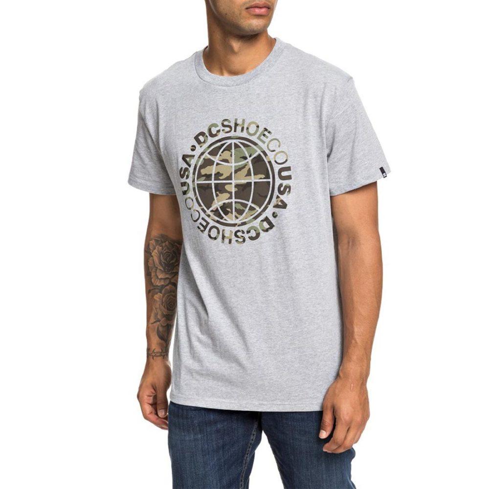 DC Shoes Cardinal S/S T-Shirt - Grey Heather