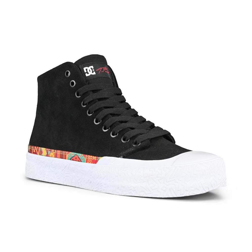 DC Shoes T-Funk Hi S High Top - Black / White Print