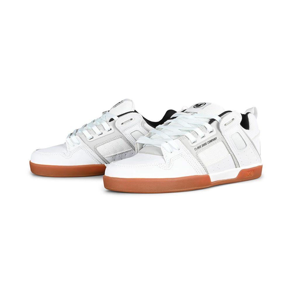 DVS Comanche 2.0+ Shoes - White / Grey / Gum