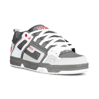 DVS Comanche Shoes - Charcoal / White / Red