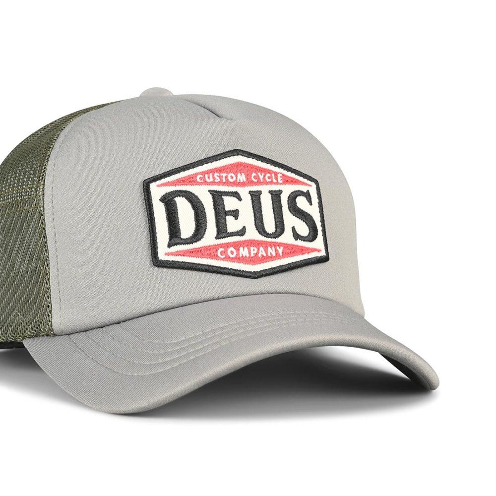 Deus Ex Machina American Twin 2 Trucker Cap – Moss Grey