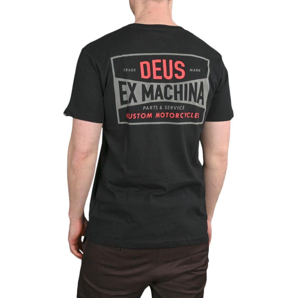 Deus Ex Machina Chroma S/S T-Shirt – Black