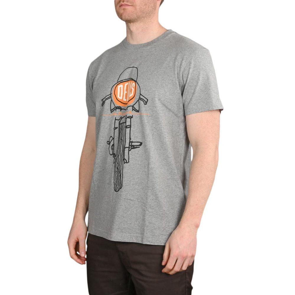 Deus Ex Machina Frontal Matchless S/S T-Shirt – Grey Marle