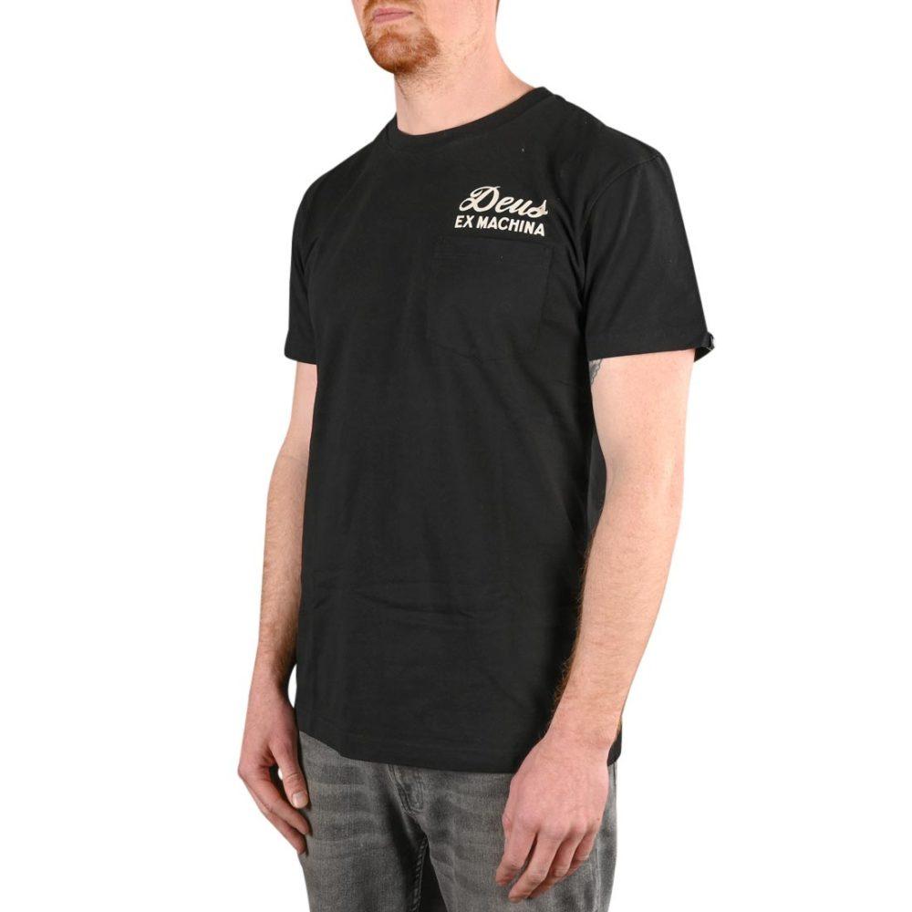 Deus Ex Machina Ibiza Address S/S T-Shirt - Black