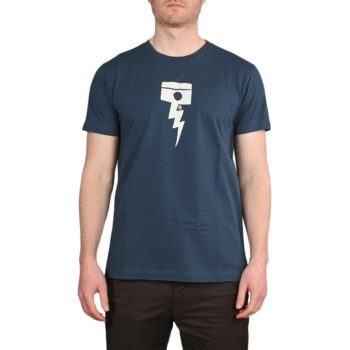Deus Ex Machina Pisstin S/S T-Shirt – Navy
