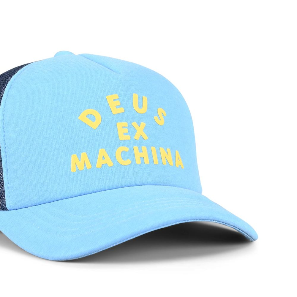 Deus Ex Machina Roller Trucker Cap – Bonnie Blue