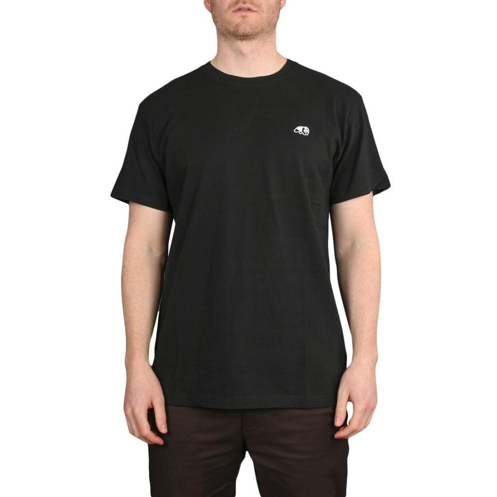 Enjoi Skateboards Premium Panda Patch S/S T-Shirt - True Black