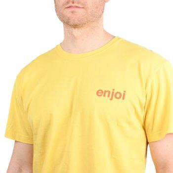 Enjoi Skateboards Premium Panda S/S T-Shirt - Flat Yellow