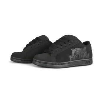 Etnies Metal Mulisha Kingpin 2 Shoes - Black / Black / Black