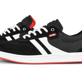 Globe Empire Shoes – Black / White / Milou