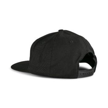 Santa Cruz Classic Dot Snapback Cap - Black