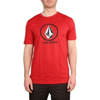Volcom Crisp Stone BSC S/S T-Shirt - Engine Red