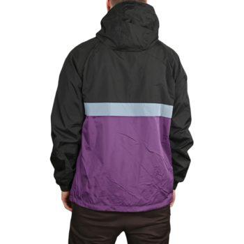 Volcom Kane Windbreaker Jacket - Grape Royale
