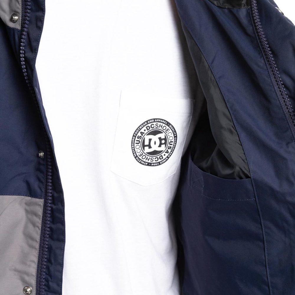 DC Shoes Nukove Packable Parka Jacket - Black Iris
