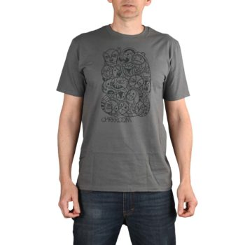 Darkroom Chaos S/S T-Shirt - Charcoal