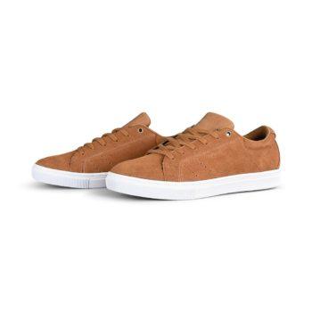 Emerica Americana Skate Shoes - Tan / White