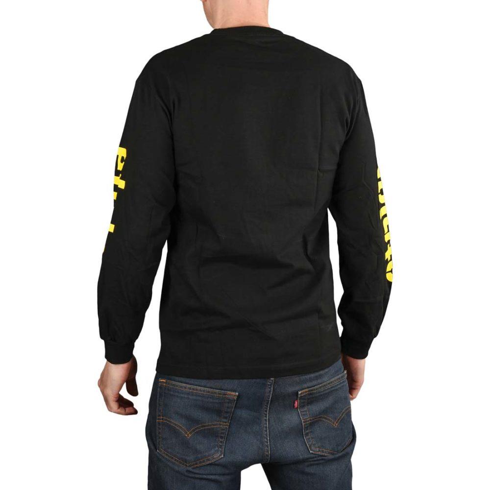 Etnies Icon L/S T-Shirt - Black / Yellow