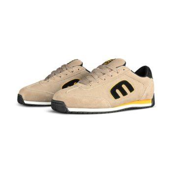 Etnies Lo-Cut II LS Skate Shoes - Tan / Black