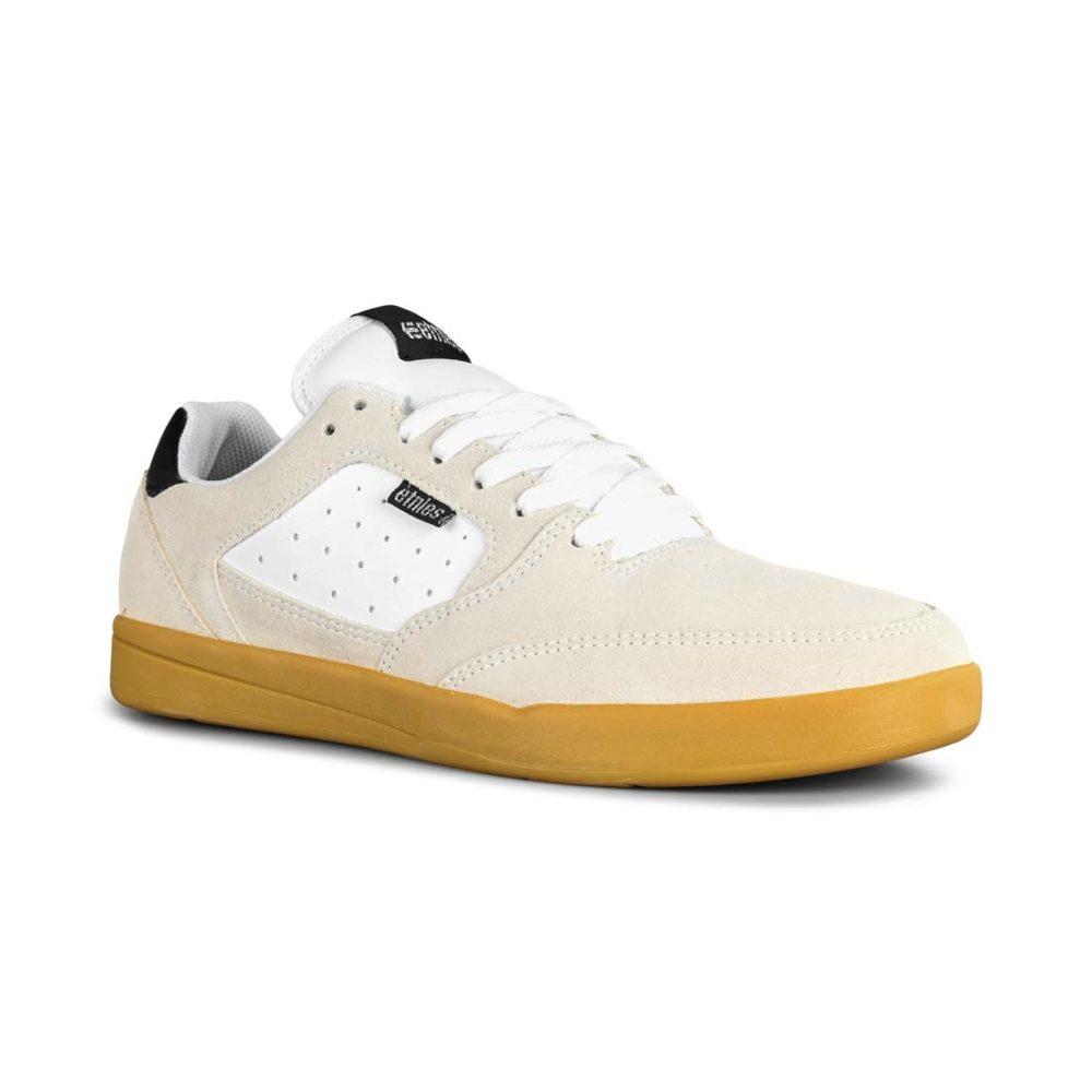 Etnies Veer Skate Shoes - White / Black / Gum