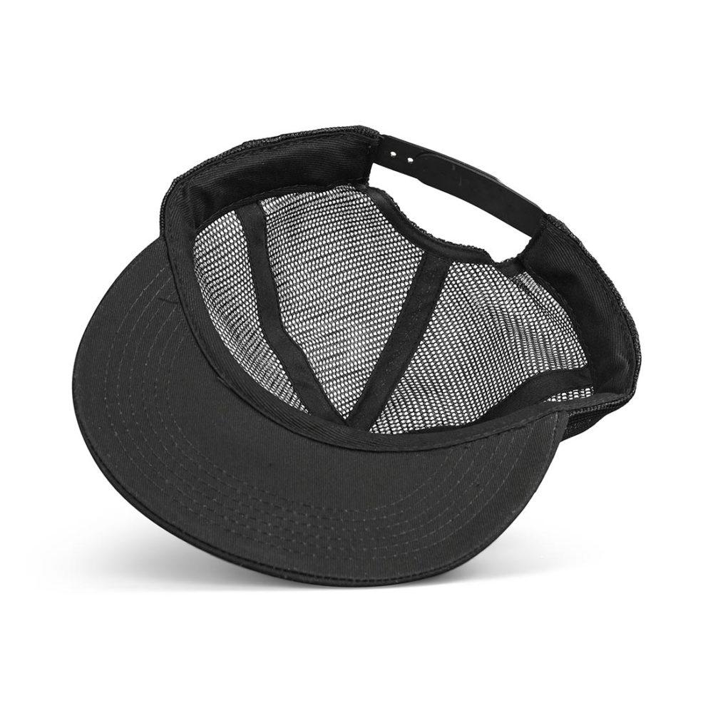 Santa Cruz Classic Dot Mesh Back Cap -Black / Black