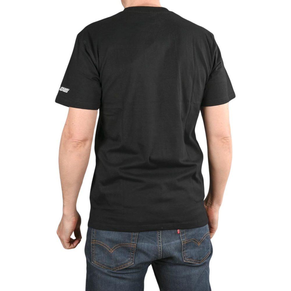 Santa Cruz Kendall Catalog S/S T-Shirt - Black