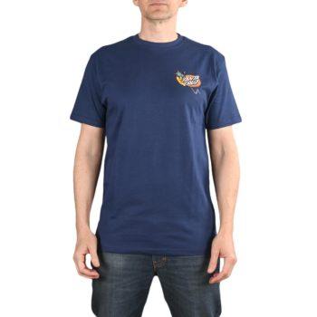 Santa Cruz Kendall Snake S/S T-Shirt - Dark Navy
