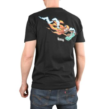 Santa Cruz Remillard Lit AF S/S T-Shirt - Black