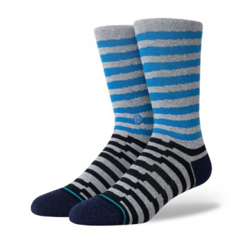Stance Breakdown Crew Crew Socks - Blue