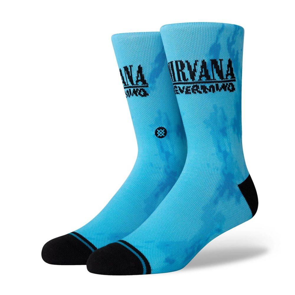 Stance Nirvana Nevermind Crew Socks - Blue