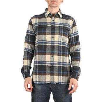 Triumph Dual Shock L/S Shirt - Blanket Check Blue