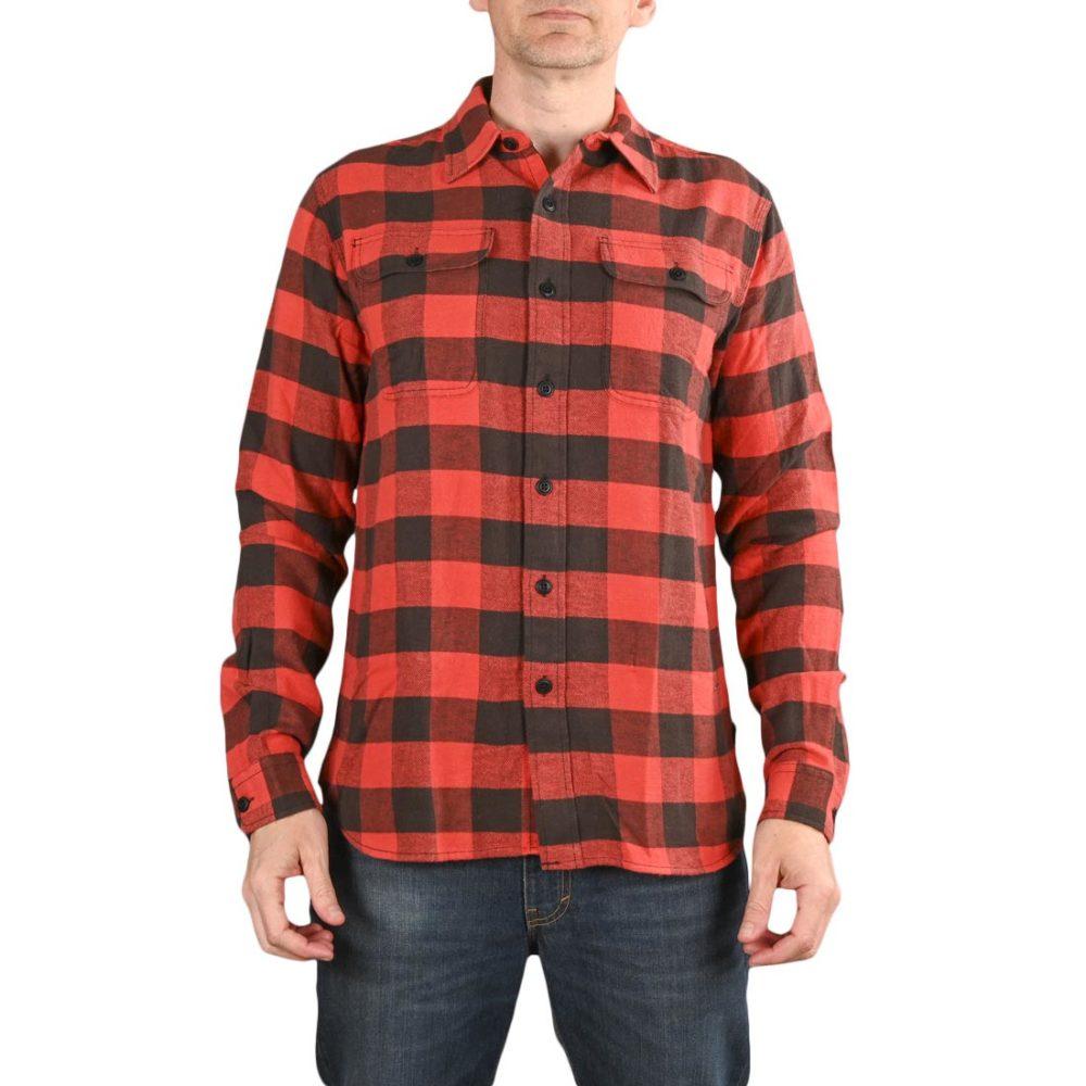 Triumph Dual Shock L/S Shirt - Large Gingham Red