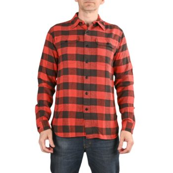 Triumph Dual Shock L/S Shirt - Large Gingham Red