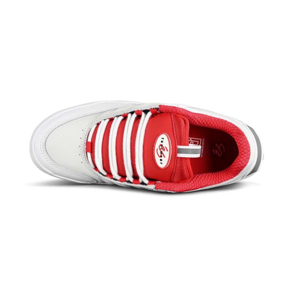 eS Evant Skate Shoes - White / Red