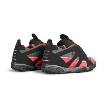 eS Scheme Skate Shoes - Black / Red