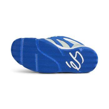 eS Scheme Skate Shoes - Grey / Royal / White