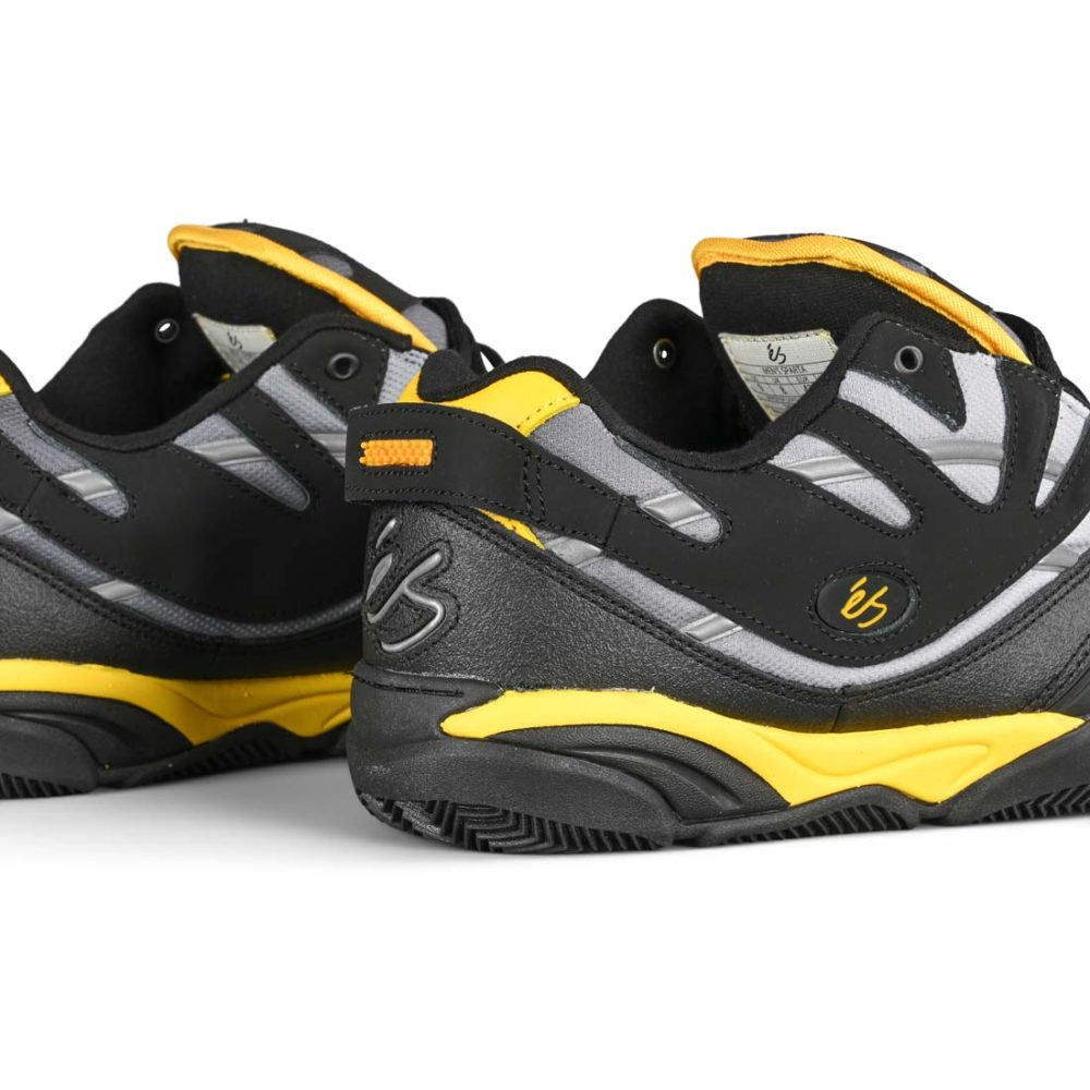 eS Sparta Shoes – Black / Yellow