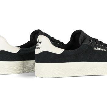 Adidas 3MC Skate Shoes - Core Black / Chalk White / Chalk White