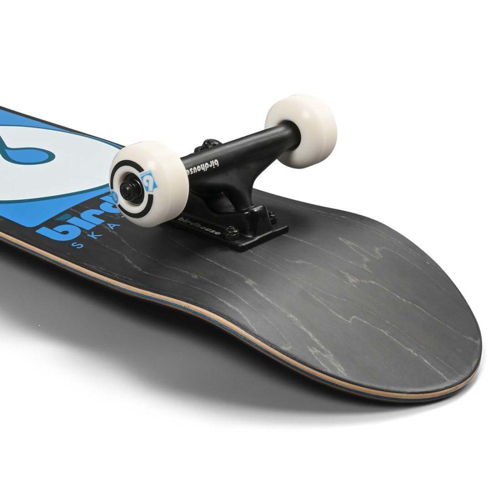 "Birdhouse Stage 3 B Logo 8"" Complete Skateboard - Black / Blue"