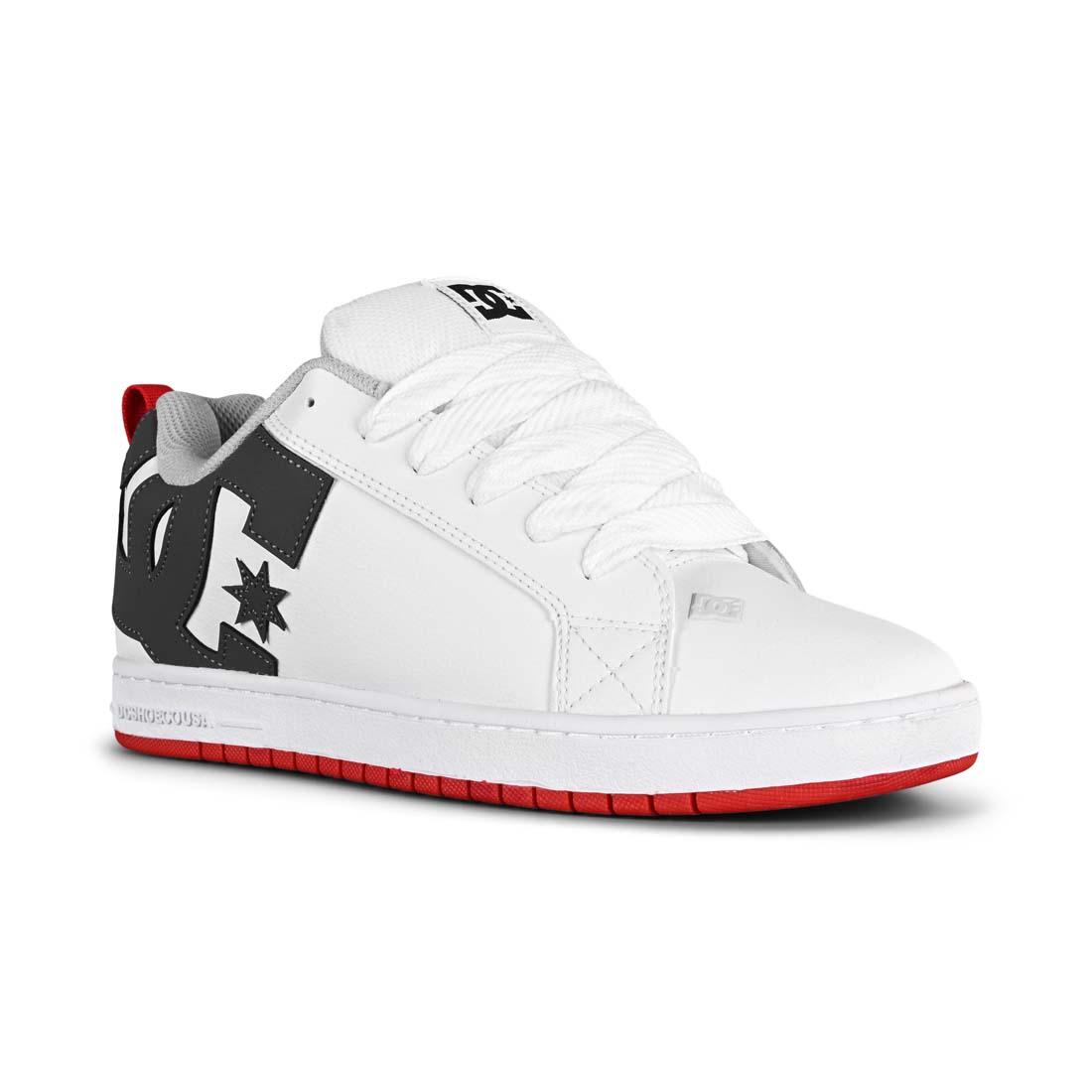DC Shoes Court Graffik - White / Grey