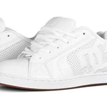 DC Shoes Net - White / White / Gum