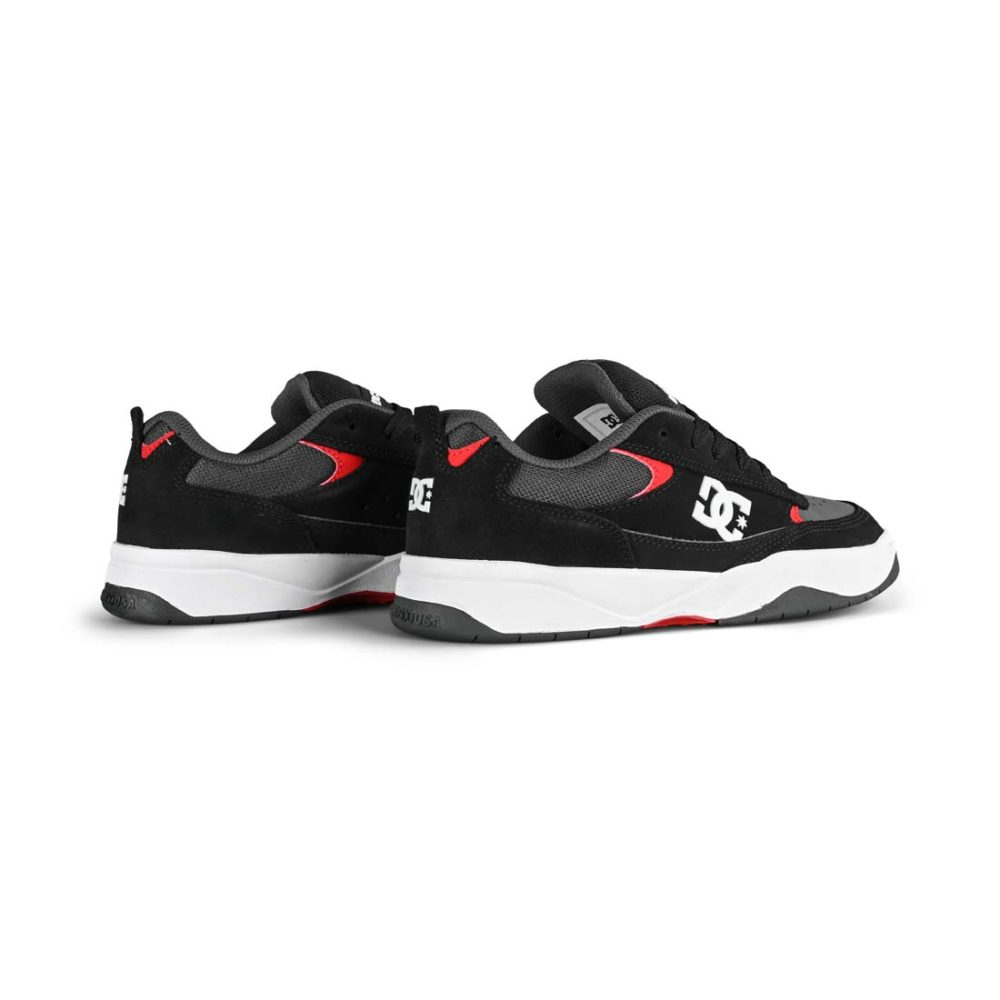DC Shoes Penza - Grey / Black / Red