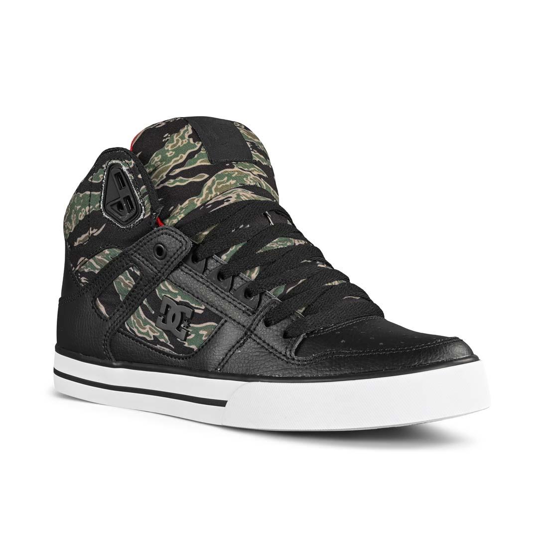 DC Shoes Pure High Top WC SP Camo Print Black