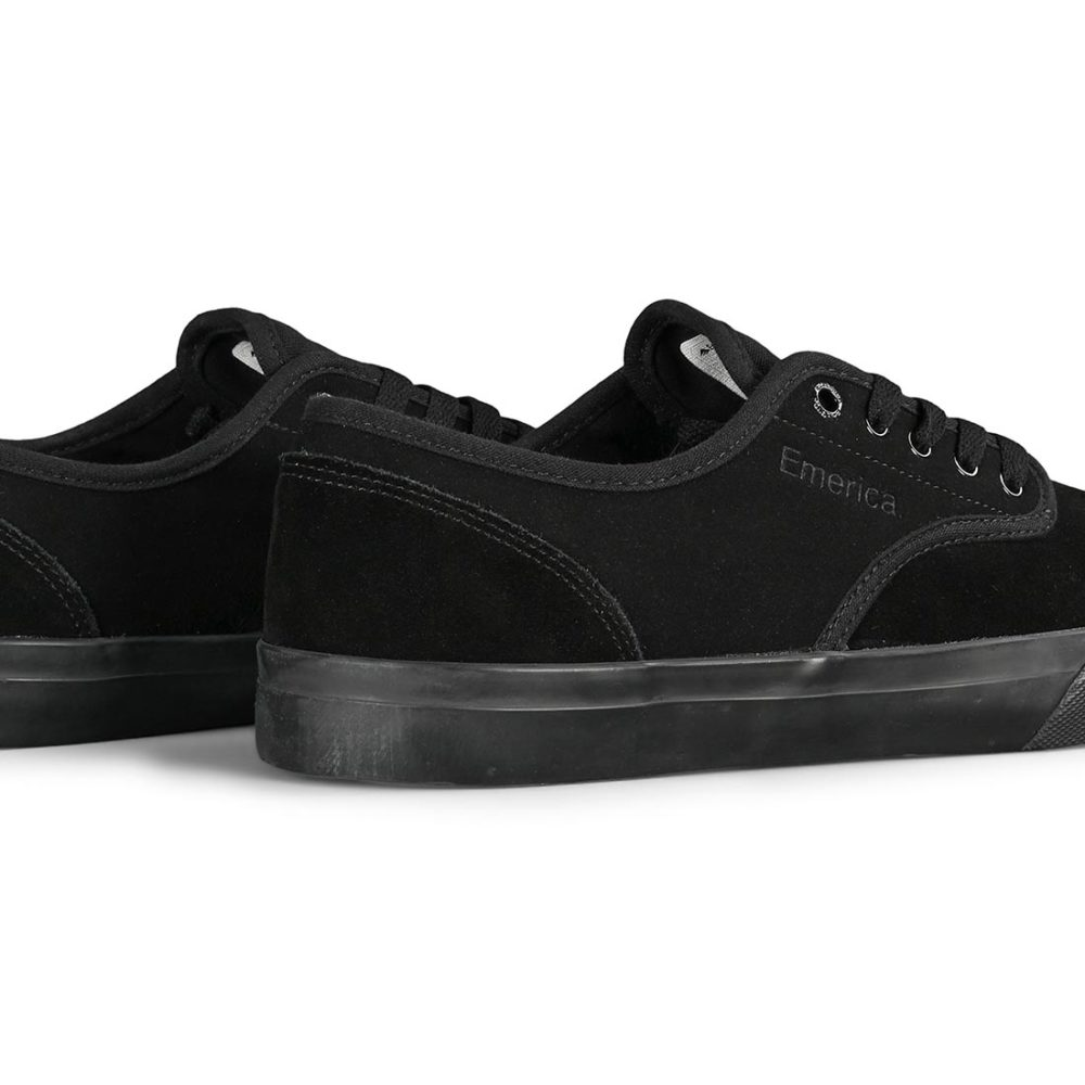 Emerica Wino Standard Skate Shoes - Black / Black