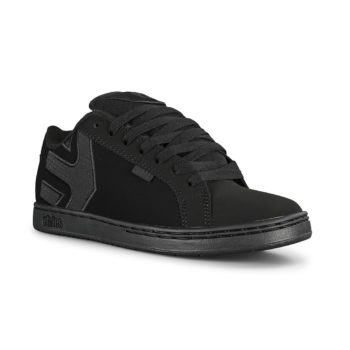 Etnies Fader Skate Shoes - Black / Black / Black