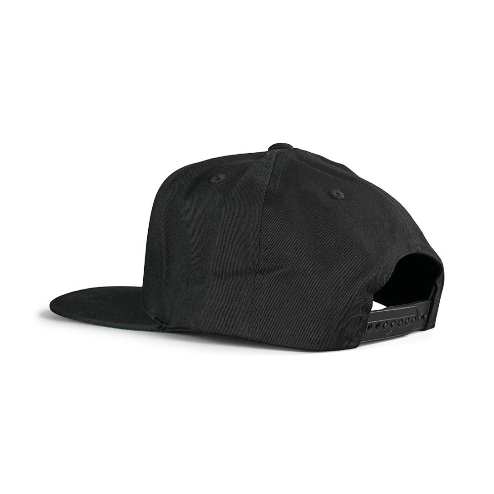 Etnies Icon Snapback Cap – Black / Yellow